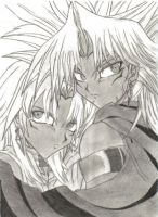 Bronzeshipping:Marik and Malik by CupidYamiVolta