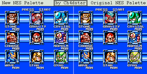 Mega Man 5 Stage Select by Ch4dStar