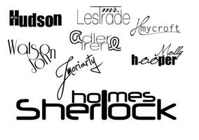 Holmes names by UngratefulDoll