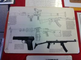 Enemy weapons (Vietnam images) by ChristoMan