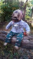 Zombie Doll Quentin by contagiouscreations