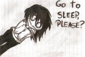 Please.. Go To Sleep..? by SweetRevenge09