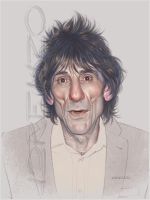 Ronnie Wood by LorenzoDiMauro