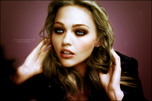 Colorization - Sasha Pivovarova by KrypteriaHG