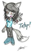 Tater Tot the Fox by Razfe
