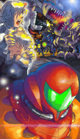 Metroid Fusion Japanese Ending 1 by s3k94