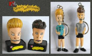 Beavis and Butt-Head Toys by mikedaws