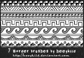 7_Border_Brushes_By_heeykiid by heeykiid
