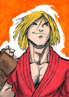 Ken Masters by RooksBrazwell
