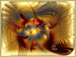 Golden Dancing Dragon by buddhakat9