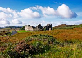 Loch Doon Castle by scotto