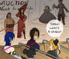 KH: Fun With Pirates by soggymuffinhead