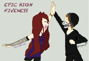 EPIC HIGH FIVENESS! by Xx-Cake-xX