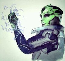 Thane Krios by Zevranfangirl