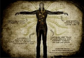 Slenderman: The Orphanage costume design by shadowshiftersgames