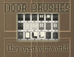 Door brushes by crimecontrol