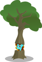 Kim's a Tree? by Vector-Brony
