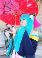 Miku Cosplay Project DIVA f2 by Gitana10