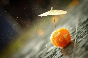 It's Raining Orange by crystalhaylie