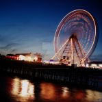 Central Pier At night by DarkDudephotography