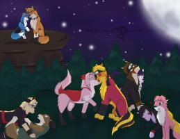 A Lovely Night -contest entry- by TrelDaWolf