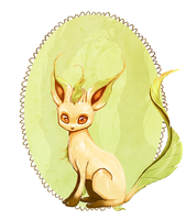 leafeon by maxvinyl