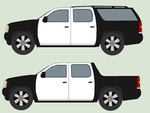 Chevrolet Suburban and CS Pickup truck by bar27262