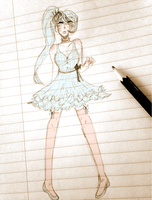 pastel weiss by zombroccoli