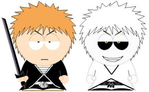 South Park Shirosaki Ichigo by grimmjack