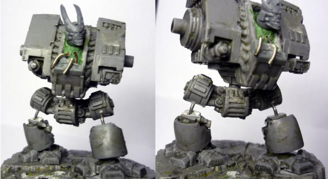 Possessed Dreadnought -WIP- by Steel-Serpent