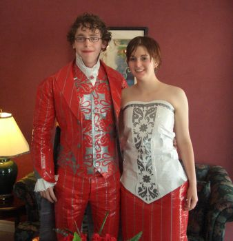 Duct Tape Formal Wear by skillie