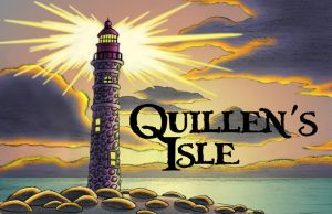 Quillen's Isle Logo by Mystic-Forces