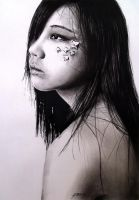 'Lost' in charcoal by amberj8