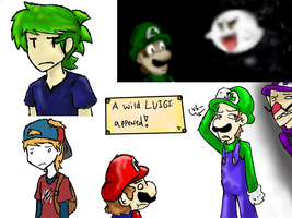 More late night iscribble time by Kirafrog