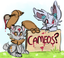 Cameos for Mission 0 by basicallycat