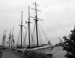 Tall Ships in Clayton by TheBrassGlass