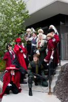 Anime Detour Hellsing Group by thatbloodypirate