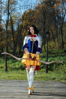 Snow White - warrior of seven arrows by FoxTailCosplay
