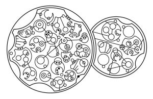 Dr Who Quote in Circular Gallifreyan by Pemachi