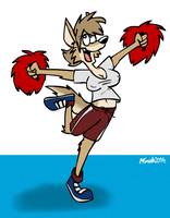 Sportfolio - Cheerleading by FreyFox