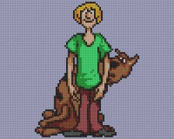 Scooby Cross Stitch by drsparc