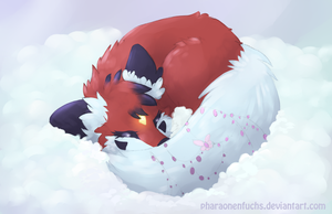 My bed in the clouds by Pharaonenfuchs