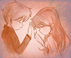 Random sad couple by Maggie-and-Day