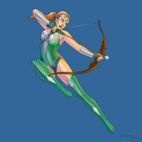 Artemis by arunion