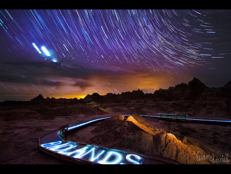Welcome to the Badlands by FramedByNature