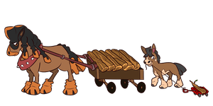 Mudsdale And Mudbray