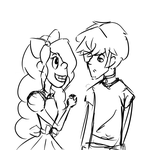 Alice and Scott Rough Sketch by kitty-kat14