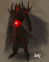 Evil king arcleu by rajaB4-aqw