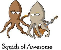 Squids of awesome by latunov