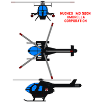 MD 520N Umbrella Corporation by bagera3005